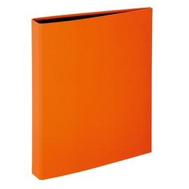 Ringbuch Trend A4 2 Ringe 260x320mm Ringe-Ø20mm mit Niederhalter orange Pagna 20601-09 Produktbild