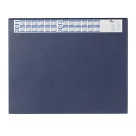 Schreibunterlage mit Jahreskalender und Klarsichtauflage 52x65cm dunkelblau Durable 7204-07 Produktbild