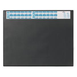 Schreibunterlage mit Jahreskalender und Klarsichtauflage 52x65cm schwarz Durable 7204-01 Produktbild