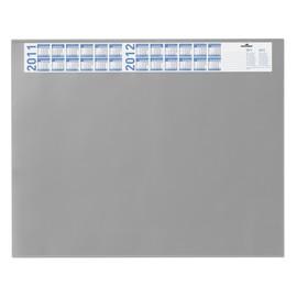 Schreibunterlage mit Jahreskalender und Klarsichtauflage 52x65cm grau Durable 7204-10 Produktbild