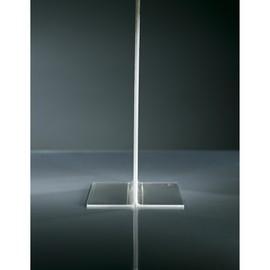 Tischaufsteller gerade für beidseitige Präsentation Din Lang glasklar Acryl mit Standfüßen Sigel TA224 Produktbild