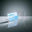 Tischaufsteller schräg für einseitige Präsentation A7 quer glasklar Acryl Sigel TA217 Produktbild Additional View 4 S