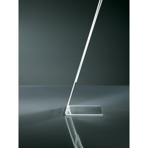 Tischaufsteller schräg für einseitige Präsentation A7 quer glasklar Acryl Sigel TA217 Produktbild Additional View 1 L