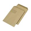 Versandtasche mit Fenster C4 229x324mm selbstklebend 90g braun Natron (PACK=250 STÜCK) Produktbild
