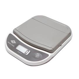 Briefwaage 2000 bis 2000g 1g-Teilung weiß/grau Batteriebetrieb WEDO 502000 Produktbild