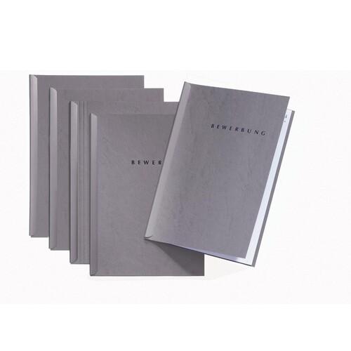Bewerbungsset Start mit Klemmschiene A4 grau Karton Pagna 22005-06 (PACK=5 STÜCK) Produktbild