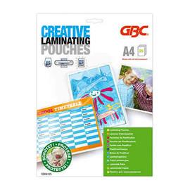Laminierfolien Creative A4 216x303mm 125µ glänzend GBC ED04125 (PACK=25 STÜCK) Produktbild