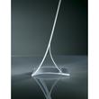 Tischaufsteller klappbar für einseitige Präsentation A5 glasklar Hartplastik Sigel TA161 (PACK=2 STÜCK) Produktbild