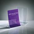Tischaufsteller klappbar für einseitige Präsentation A5 glasklar Hartplastik Sigel TA161 (PACK=2 STÜCK) Produktbild Additional View 7 S