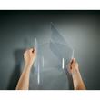 Tischaufsteller klappbar für einseitige Präsentation A4 glasklar Hartplastik Sigel TA160 (PACK=2 STÜCK) Produktbild Additional View 1 S