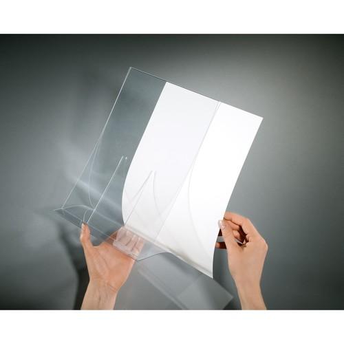 Tischaufsteller klappbar für einseitige Präsentation A4 glasklar Hartplastik Sigel TA160 (PACK=2 STÜCK) Produktbild Additional View 3 L