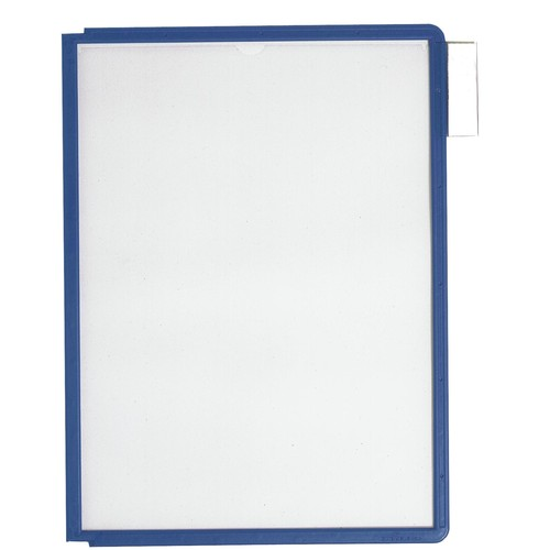 Sichttafeln SHERPA A4 für Tafelträger dunkelblau Durable 5606-07 (PACK=5 STÜCK) Produktbild Additional View 1 L