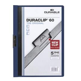 Klemmmappe Duraclip60 A4 bis 60Blatt nachtblau Hartfolie Durable 2209-28 Produktbild
