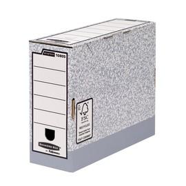 Ablagebox FastFold 315x260x105mm grau/weiß Fellowes 1080501 Produktbild