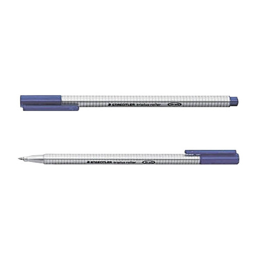 Tintenroller Triplus 403 0,4mm Dreikant blau Staedtler 403-3 Produktbild Front View L