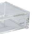Visitenkartenbox 100x30x65mm für 80Karten glasklar Acryl Sigel VA112 Produktbild Additional View 3 S