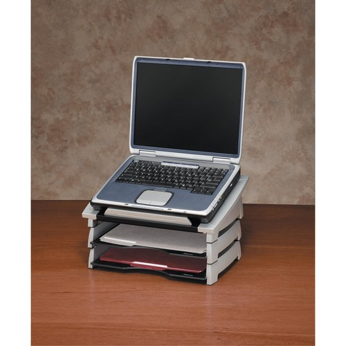 Notebookständer Office Suites 38,4cm x 16,5cm x 29 cm anthrazit/silber Fellowes 8032001 Produktbild Additional View 1 L