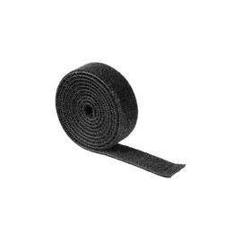 Klettband Universell 19mm x 1m schwarz Hama 00020543 (RLL=1 METER) Produktbild