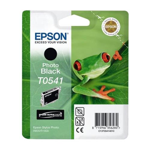 Tintenpatrone T0541 für Epson Stylus Photo R800/R1800 13ml FOTOschwarz Ultra Chrome Epson T054140 Produktbild Front View L