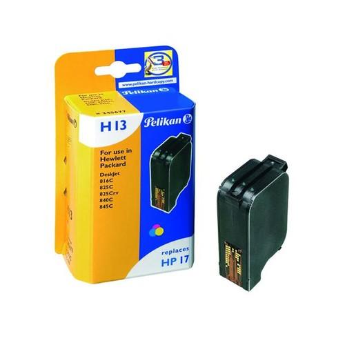 Tintenpatrone Gr. 993C (C6625AE) für Deskjet 810/825/840/920/940/3820 15ml farbig Pelikan 345677 Produktbild Front View L