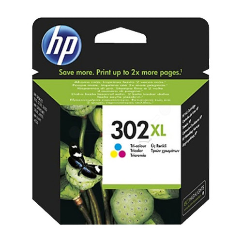 Druckkopfpatrone 302XL für HP DeskJet 1110/2130 farbig HP F6U67AE Produktbild Front View L
