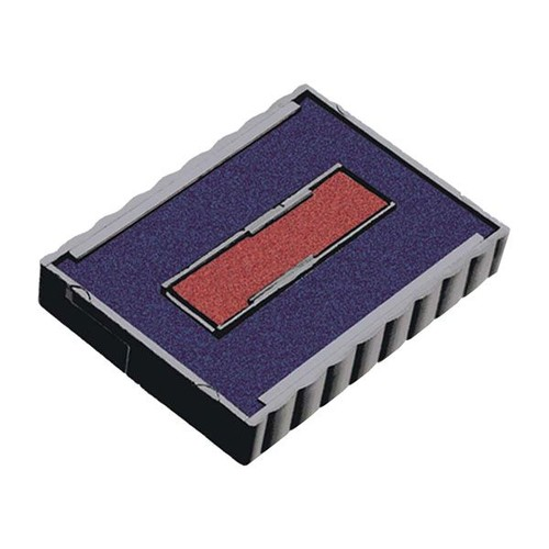 Ersatz-Stempelkissen blau-rot Trodat 6/4750/2 Produktbild