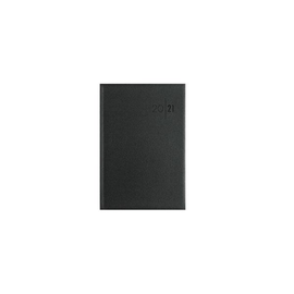 Wochenbuch 2021 A5 15x21cm 1Woche/2Seiten schwarz wattiert Zettler 766-0020 Produktbild