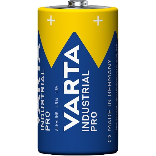 Batterien High Energy Baby C Industrial 1,5V 7800mAH Varta 4014 (PACK=20 STÜCK) Produktbild Front View L