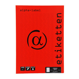 Etiketten Inkjet+Laser+Kopier 70x36mm auf A4 Bögen weiß 5901 (PACK=2400 STÜCK) Produktbild