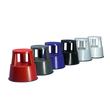 Rollhocker fahrbar Tragkraft 150kg lichtgrau bruchfester Kunststoff Wedo 212.237 Produktbild Additional View 4 S