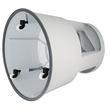 Rollhocker fahrbar Tragkraft 150kg lichtgrau bruchfester Kunststoff Wedo 212.237 Produktbild Additional View 2 S