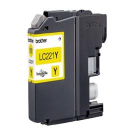 Tintenpatrone für DCP-J562DW/MFC-J1100 3,9ml yellow Brother LC-221Y Produktbild