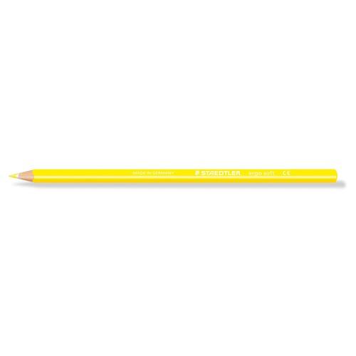 Farbstift ergo soft 157 dreikant gelb Staedtler 157-1 Produktbild