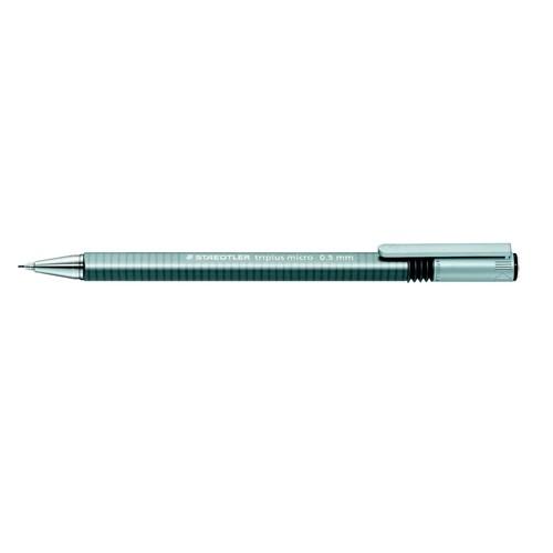 Druckbleistift Triplus Micro 774 0,5mm Dreikant grau Staedtler 77425 Produktbild Front View L
