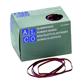 Gummibänder 200x6mm rot ALCO 757/2-12 (KTN=500 GRAMM) Produktbild