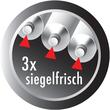 Klebstoff Sekundenkleber minis 3x1g Tube in der Aufbewahrungsbox UHU 45415 (PACK = 3 STÜCK Á 1 GRAMM) Produktbild Additional View 1 S