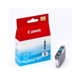 Tintenpatrone CLI-8C für Canon Pixma IP4200/IP5200/MP500 13ml cyan Canon 0621b001 Produktbild