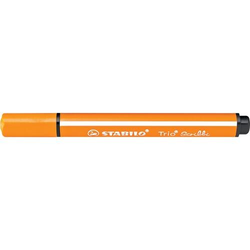 Dreikant-Fasermaler Trio Scribbi 368 1,5-2mm orange Stabilo 368/954 Produktbild Additional View 1 L