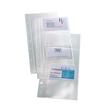 Visitenkartenhüllen für 80Karten transparent Kunststoff Sigel VZ350 (PACK=10 STÜCK) Produktbild