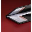 Visitenkartenmappe Torino für 120Karten schwarz Leder Sigel VZ202 Produktbild Additional View 1 S