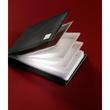 Visitenkartenmappe Torino für 40Karten schwarz Leder Sigel VZ201 Produktbild Additional View 1 S
