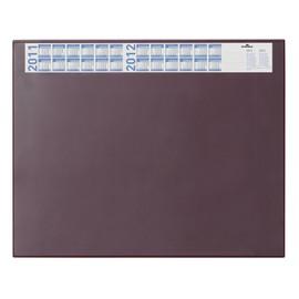 Schreibunterlage mit Jahreskalender und Klarsichtauflage 52x65cm rot Durable 7204-03 Produktbild