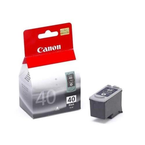 Druckkopfpatrone PG-40 für Pixma IP1600 16ml schwarz Canon 0615B001 Produktbild Front View L