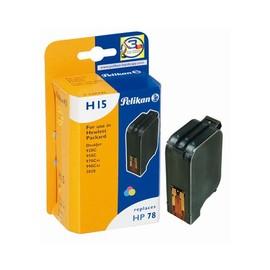 Tintenpatrone Gr. 992 (C6578D) für DeskJet 960C/970Cxi 19ml farbig Pelikan 348791 Produktbild