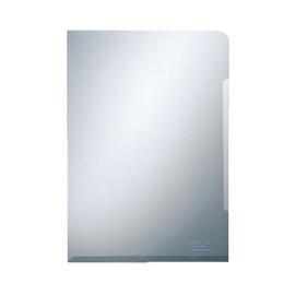Sichthüllen oben + rechts offen A4 120µ glasklar PVC Hartfolie 00511101 (PACK=100 STÜCK) Produktbild