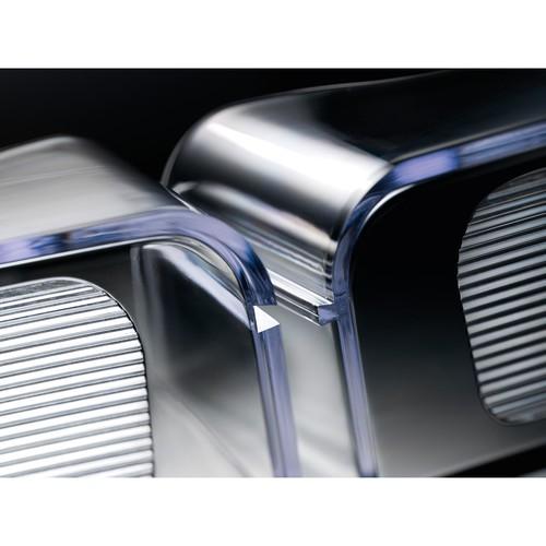 Tisch-Prospekthalter A4 30mm glasklar Acryl Sigel LH110 Produktbild Additional View 3 L