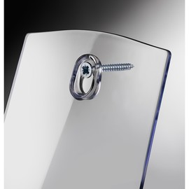 Tisch-Prospekthalter 1x A5 30mm glasklar Acryl Sigel LH112 Produktbild