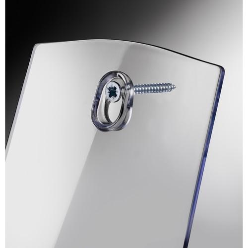 Tisch-Prospekthalter 1x DIN Lang 30mm glasklar Acryl Sigel LH113 Produktbild