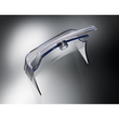 Tisch-Prospekthalter 1x DIN Lang 30mm glasklar Acryl Sigel LH113 Produktbild Additional View 1 S