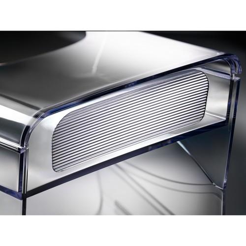 Tisch-Prospekthalter 1x DIN Lang 30mm glasklar Acryl Sigel LH113 Produktbild Additional View 2 L